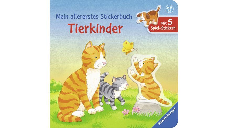 Ravensburger Mein allererstes Stickerbuch Tierkinder