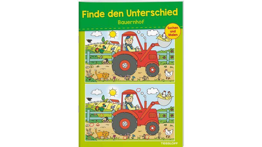 Buch Tessloff Finde den Unterschied Bauernhof
