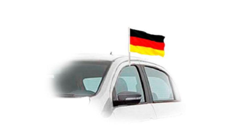 DEUTSCHLAND WM 2018 Autofahne