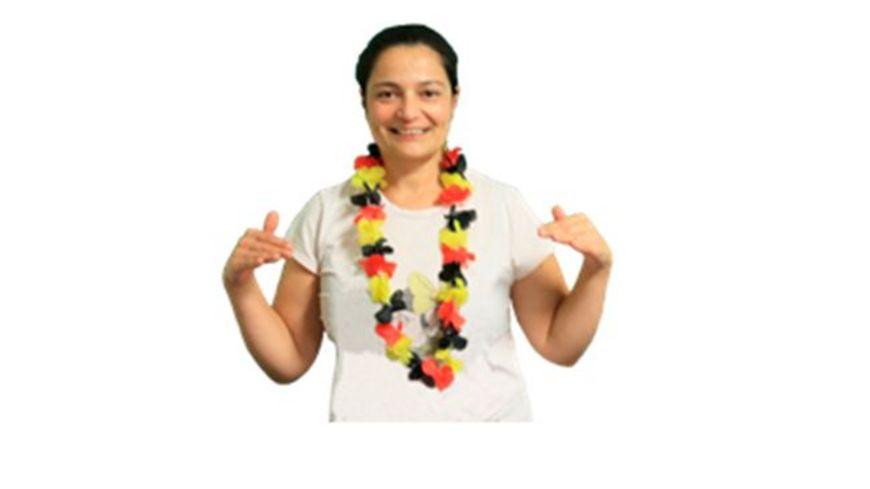 DEUTSCHLAND WM 2018 Hawaii Halskette