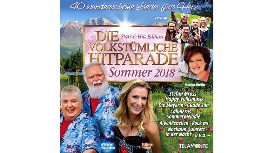 Die volkstuemliche Hitparade Sommer 2018