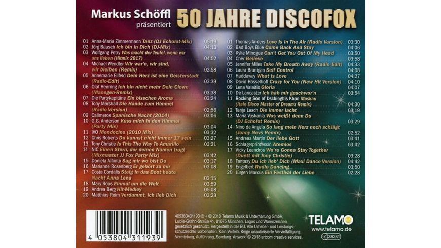 50 Jahre Discofox