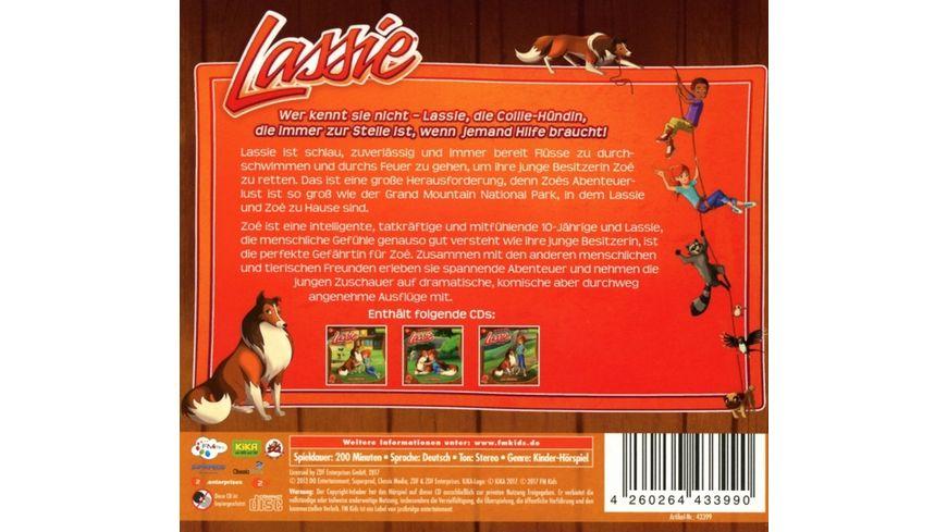 Lassie Hoerspiel Box 2 3 CDs