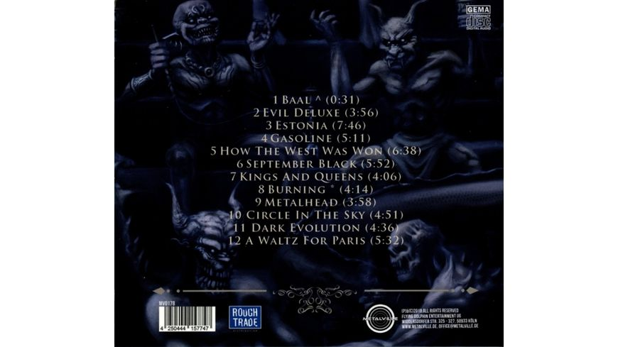 Evil Deluxe Digipak