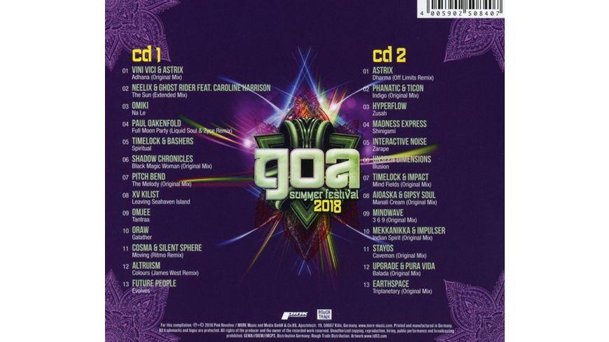 Goa Summer Festival 2018