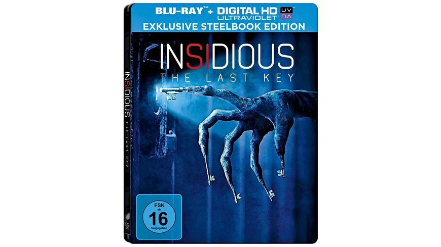 Insidious Chapter 4 Exklusives BD Steelbook