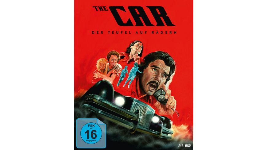 Der Teufel auf Raedern The Car Mediabook 2 DVDs
