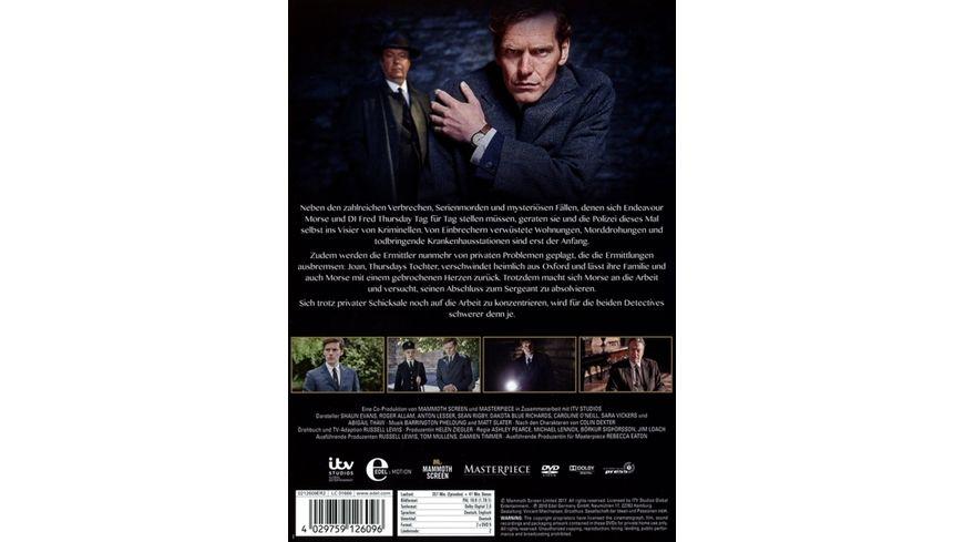 Der junge Inspektor Morse Staffel 4 2 DVDs