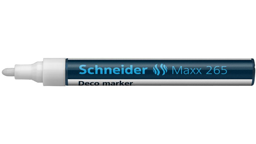Schneider Dekomarker Maxx 265 weiss