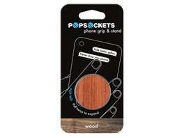 PopSockets Wood Rosewood