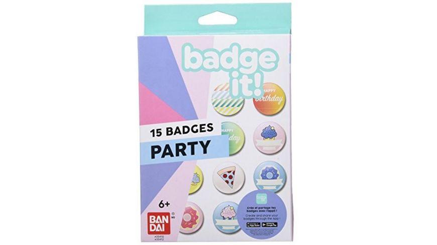 Bandai Badge it Party Nachfuellpack