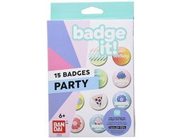 Bandai Badge it Party Nachfuellpack