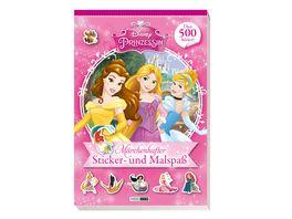 Buch Panini Disney Prinzessin Maerchenhafter Sticker und Malspass