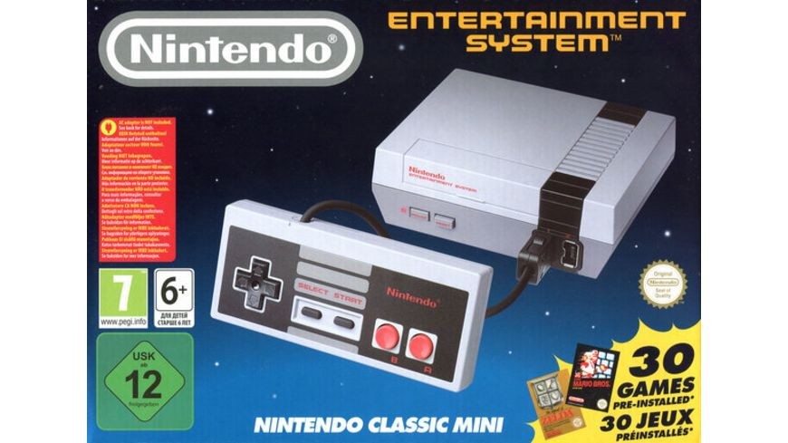 NES Nintendo Classic Mini Konsole