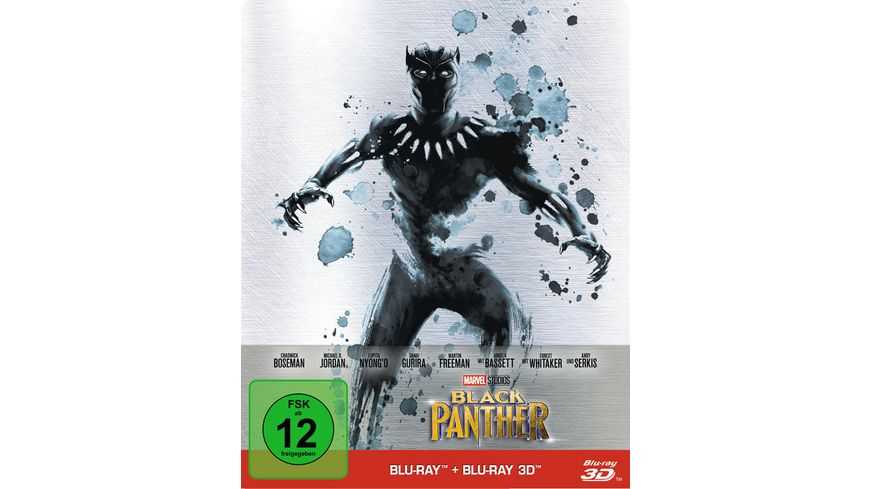 Black Panther Steelbook Blu ray 2D LE