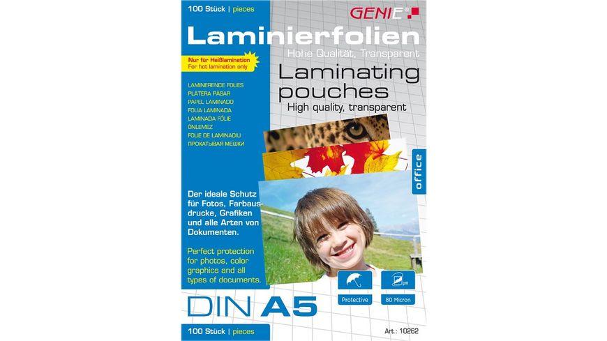 GENIE Laminierfolien DIN A5