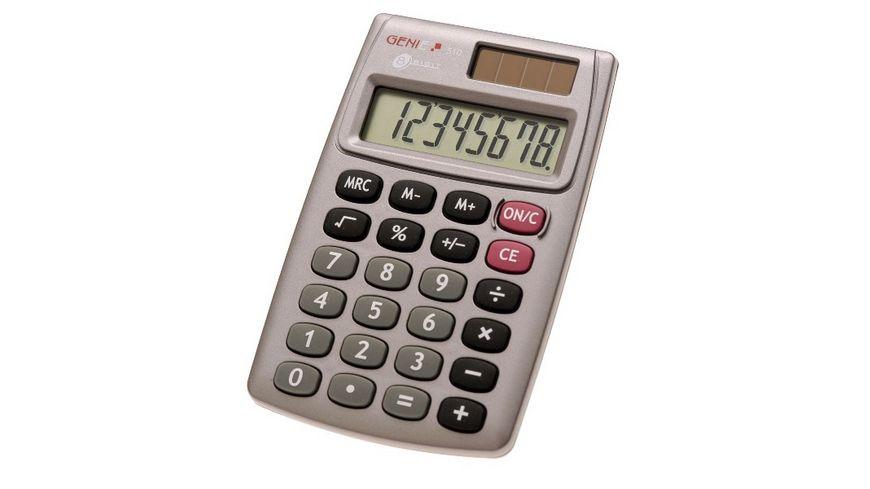 GENIE Taschenrechner 510 8 stellig Blister