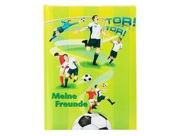 goldbuch Freundebuch Fussballer