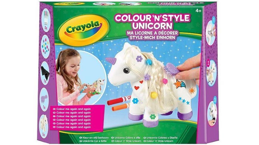 Crayola Style Mich Einhorn