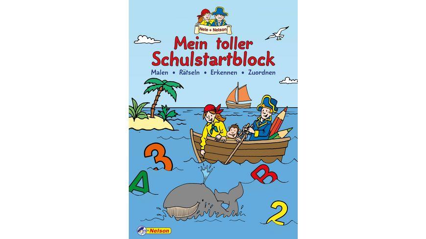Buch Nelson Verlag Mein toller Schulstartblock