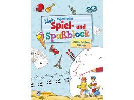 Buch Nelson Verlag Mein supertoller Spiel und Spassblock