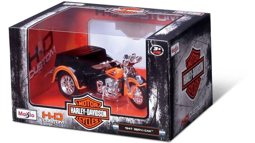Maisto Harley Davidson Motorradmodelle