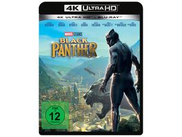 Black Panther 4K Ultra HD Blu ray