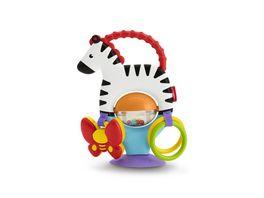 Fisher Price Kleines Spiel Zebra Baby Spielzeug Beissring Rassel Greifling