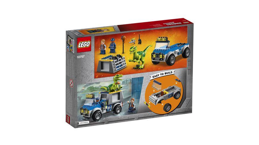 LEGO Juniors 10757 Raptoren Rettungstransporter