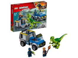 LEGO Juniors 10757 Raptoren Rettungstransporter