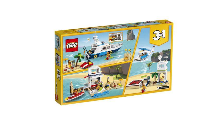 LEGO Creator 31083 Abenteuer auf der Yacht
