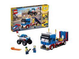 LEGO Creator 31085 Stunt Truck Transporter