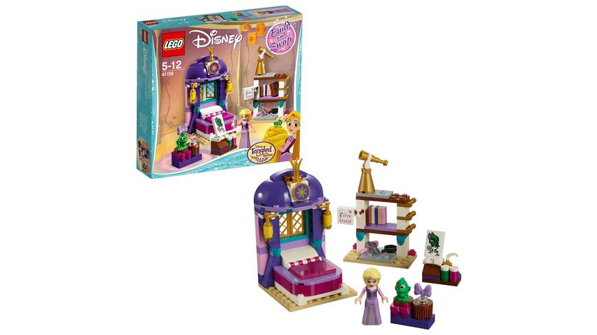 LEGO Disney Princess 41156 Rapunzels Schlafgemach