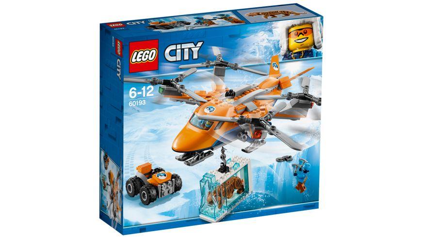 LEGO City 60193 Arktis Frachtflugzeug