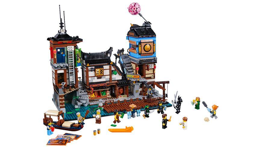 LEGO Ninjago 70657 NINJAGO City Hafen