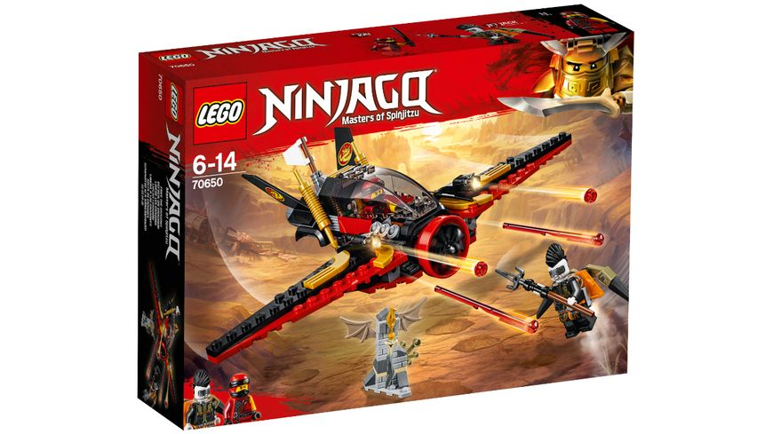 LEGO Ninjago 70650 Fluegel Speeder