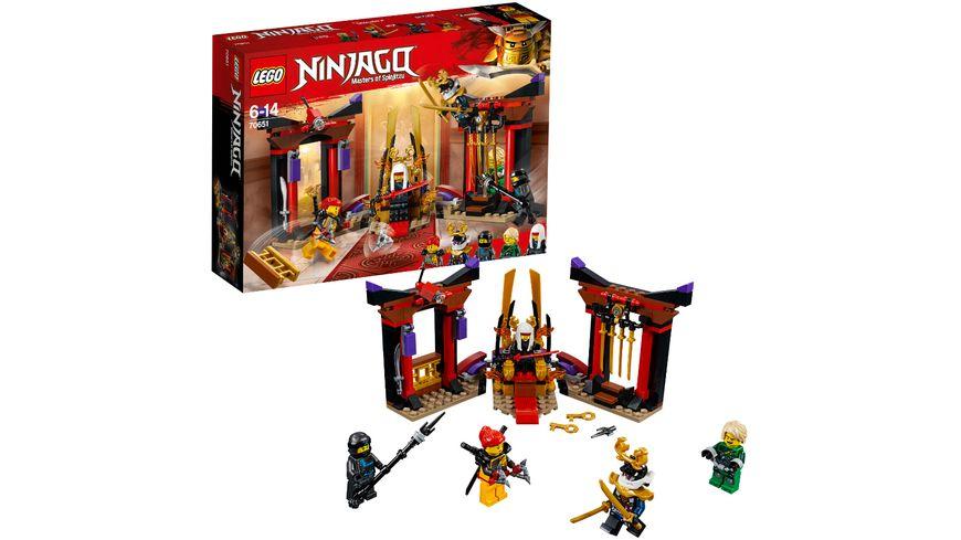 LEGO Ninjago 70651 Duell im Thronsaal