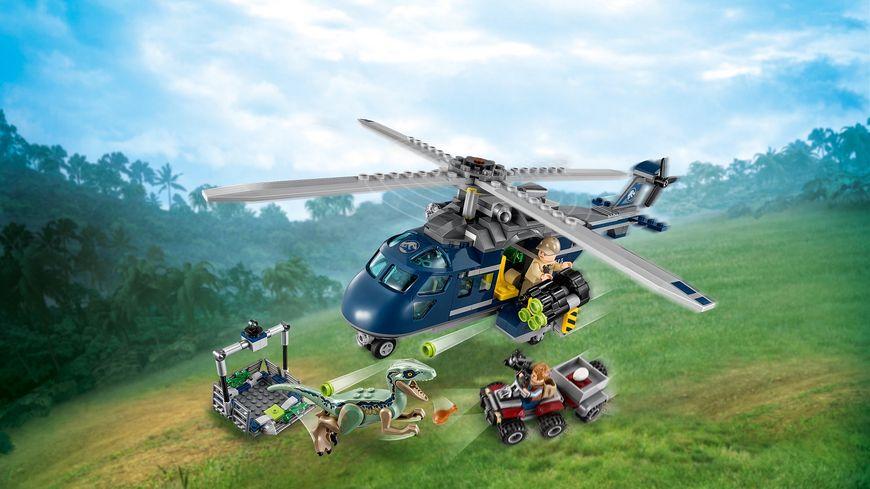 LEGO Jurassic World 75928 Blue s Hubschrauber Verfolgungsjagd
