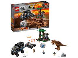 LEGO Jurassic World 75929 Carnotaurus Flucht in der Gyrosphere