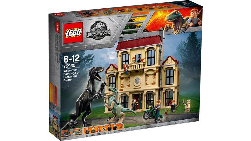 LEGO Jurassic World 75930 Indoraptor Verwuestung des Lockwood Anwesens