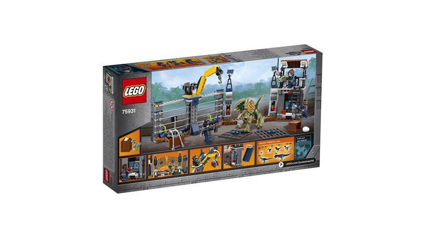 LEGO Jurassic World 75931 Angriff des Dilophosaurus