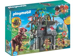 PLAYMOBIL 9429 Basecamp mit T Rex
