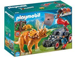 PLAYMOBIL 9434 Offroader mit Dino Fangnetz
