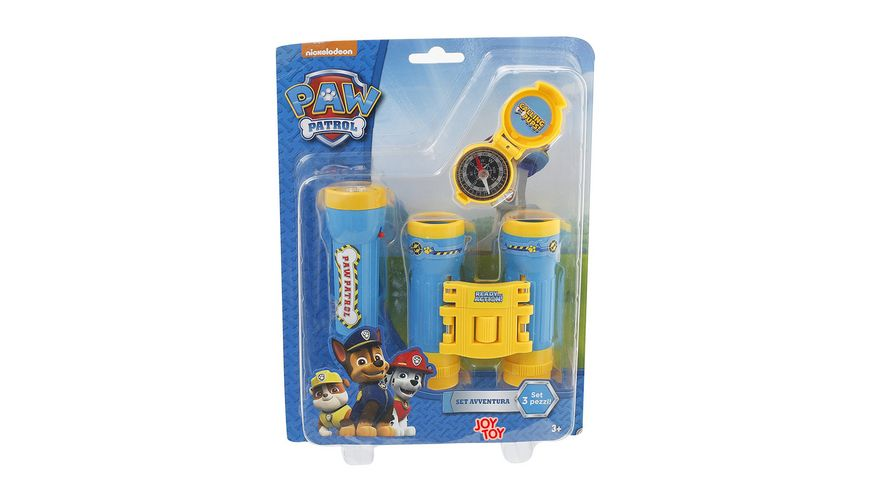 Joy Toy Paw Patrol Adventureset 3 tlg