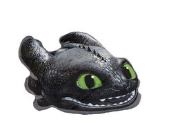 Joy Toy Dragons Ohnezahn geformtes Plueschkissen 8x40x30 cm