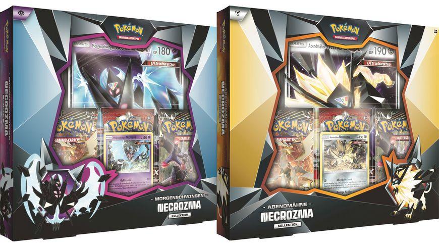 Pokemon Sammelkartenspiel Kollektion Necrozma Abendmaehne Morgenschwingen sortiert