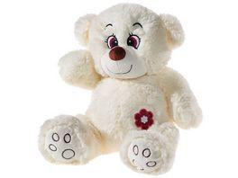 Heunec Flower Power Glitter Teddy creme 26 cm