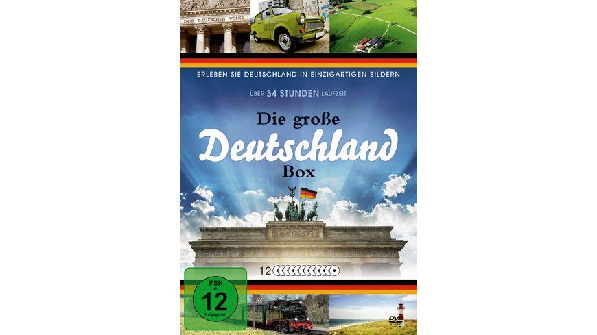 Die grosse Deutschland Box 12 DVDs