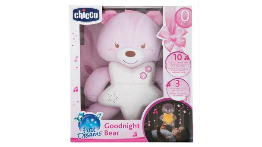 Chicco Gute Nacht Baerchen Rosa