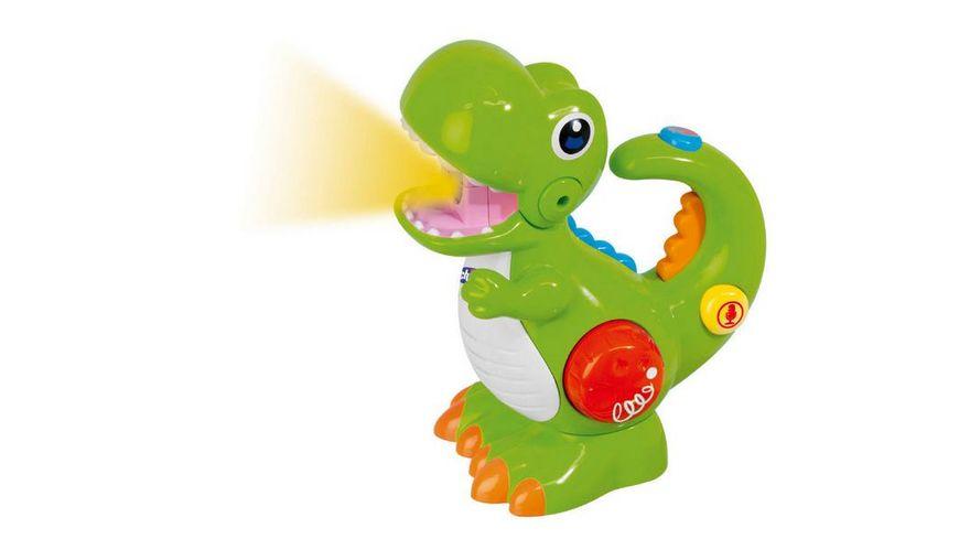 Chicco Dino mit Stimmrekorder und Taschenlampe